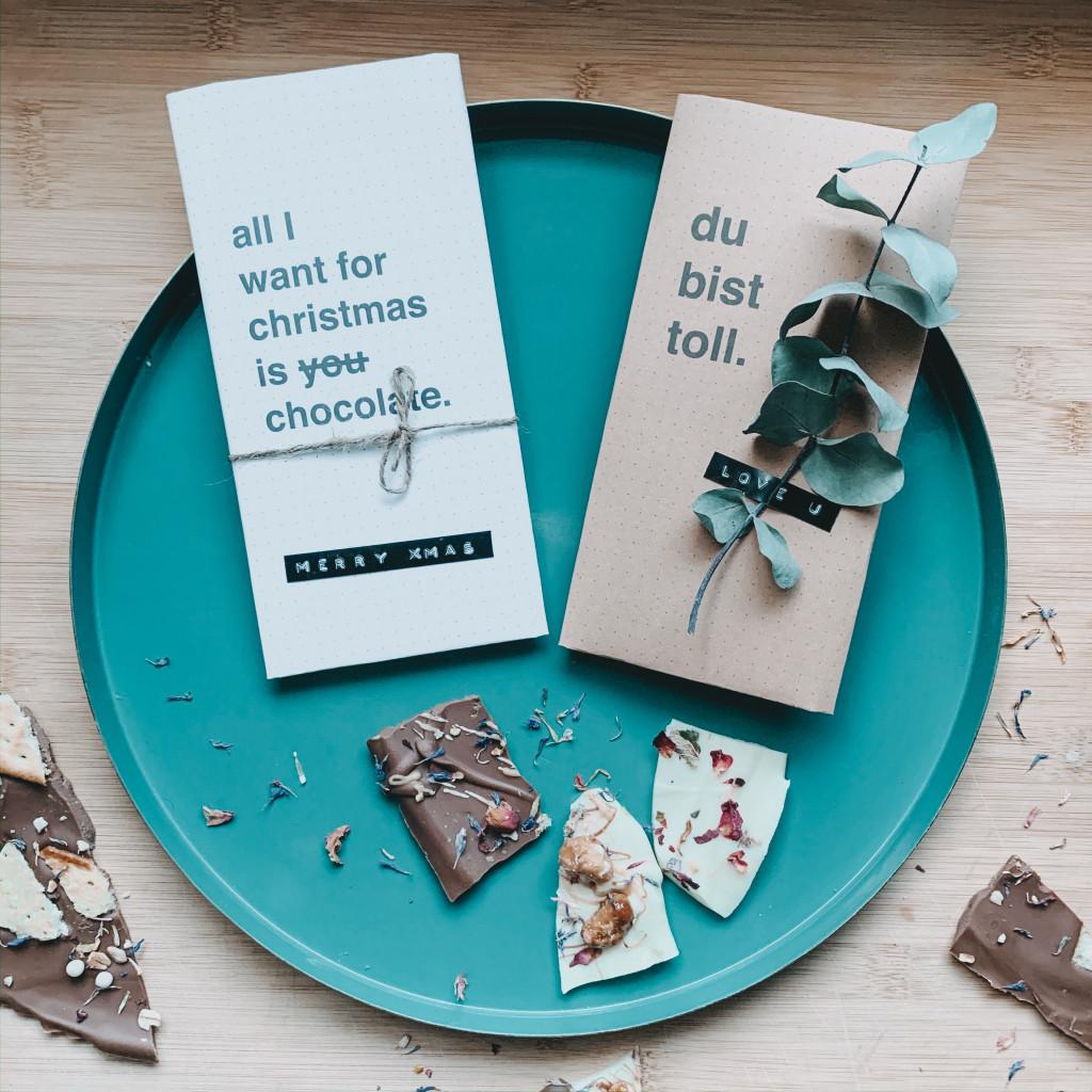 Schokolade Verpackung DIY