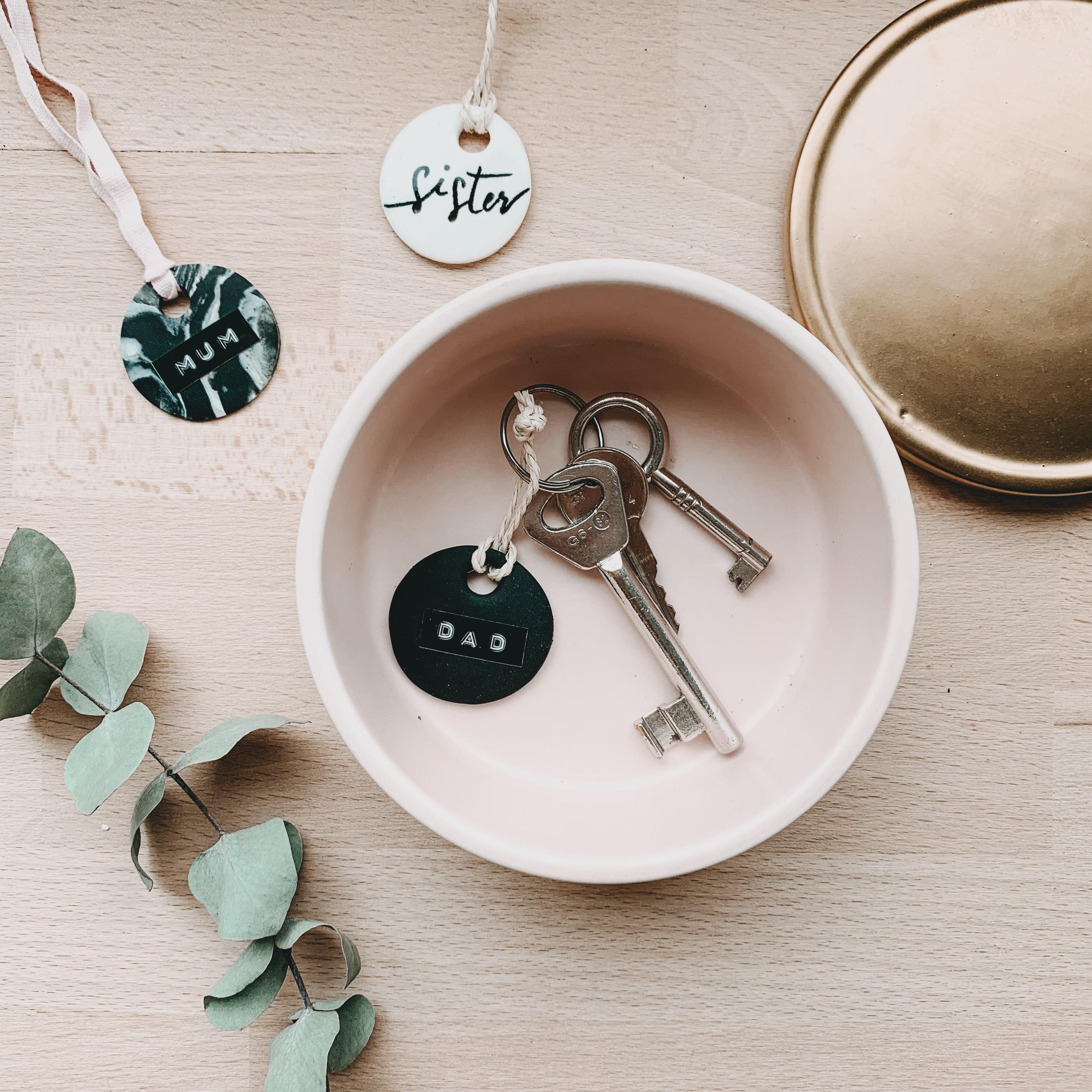Fimo Schlüsselanhänger DIY Geschenk