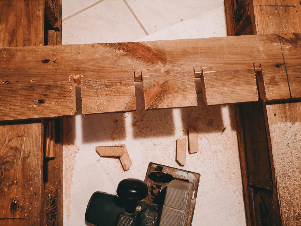 Schritt 6 DIY Weinregal aus Paletten