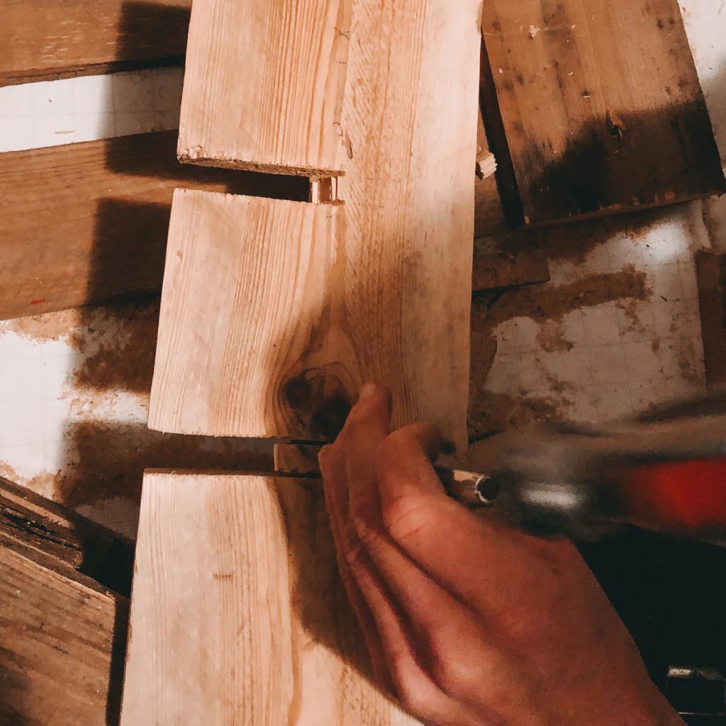 Schritt 7 DIY Weinregal aus Paletten