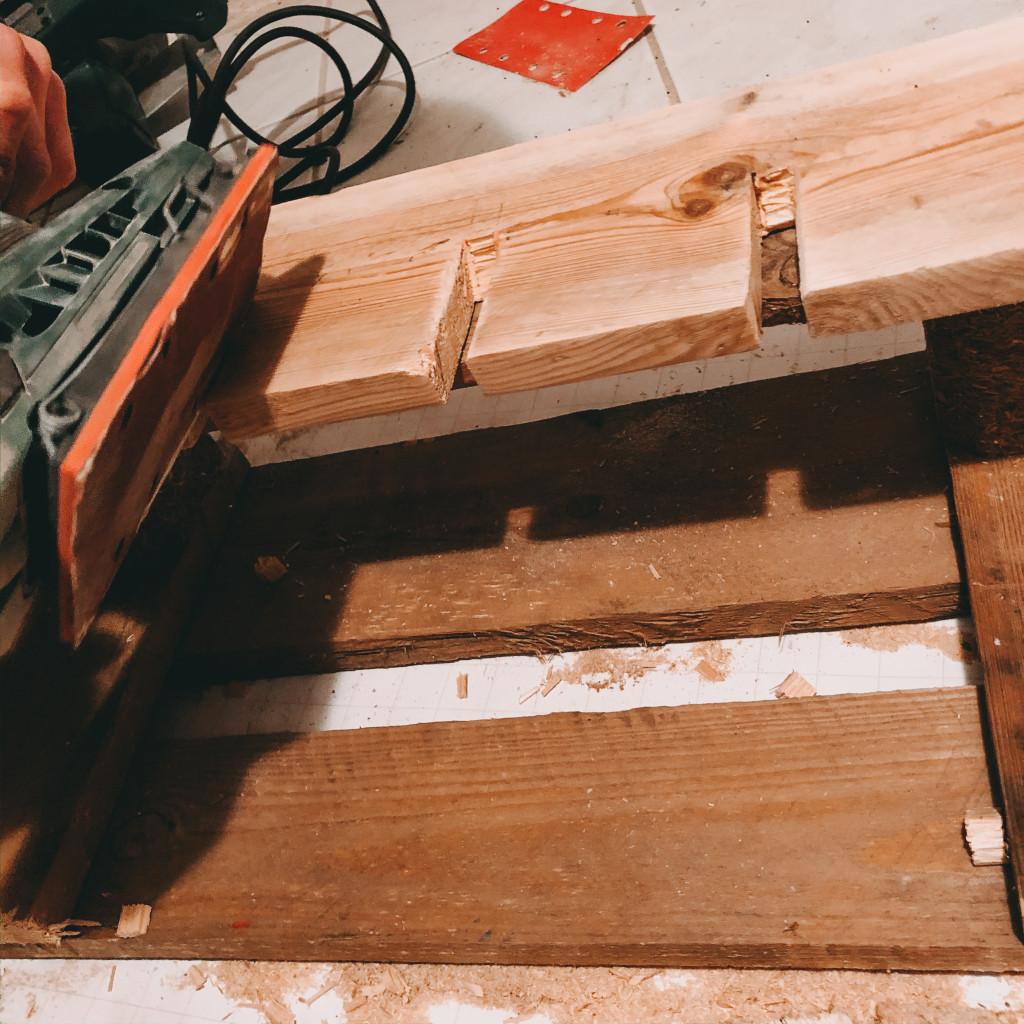 Schritt 8 DIY Weinregal aus Paletten