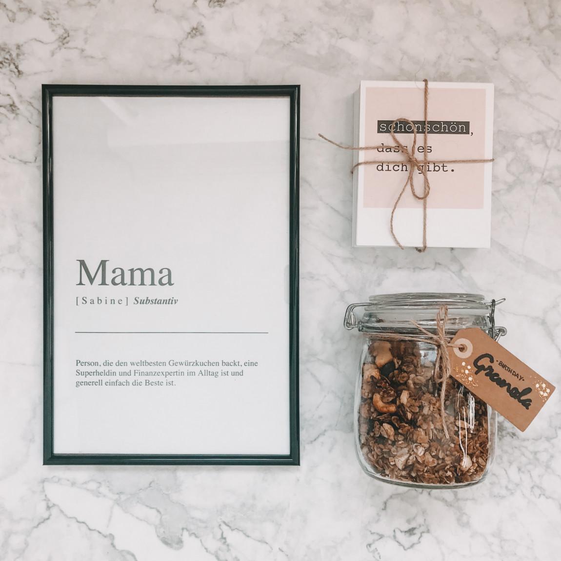 DIY Geschenke Muttertag