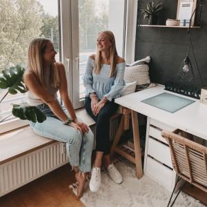 Caro & Lena Fensterbank quadratisch