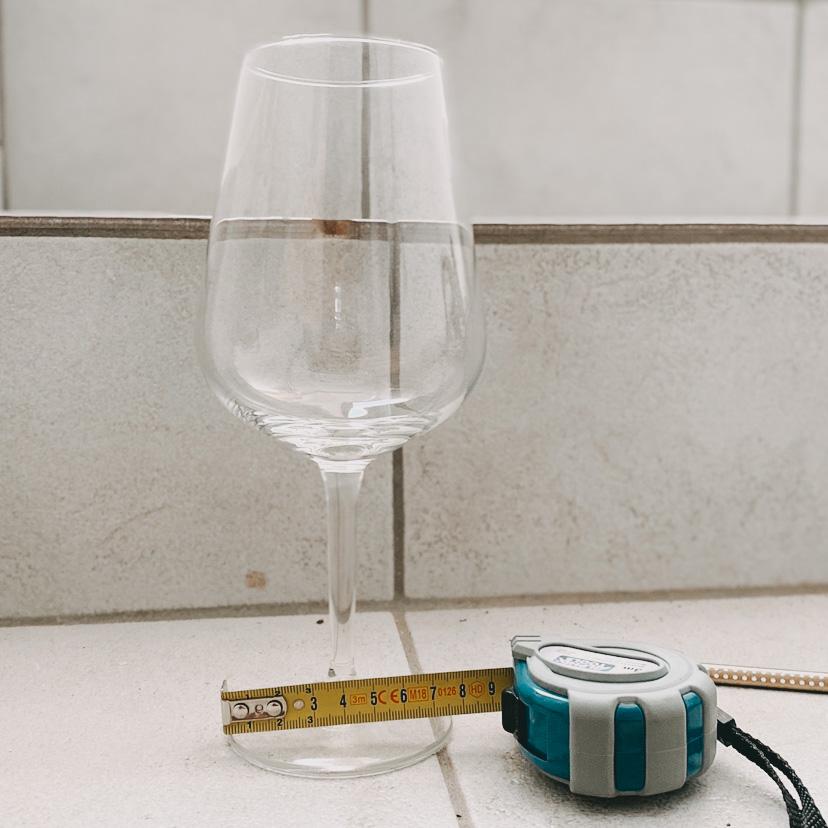 Weinglas Abmessungen Paletten DIY