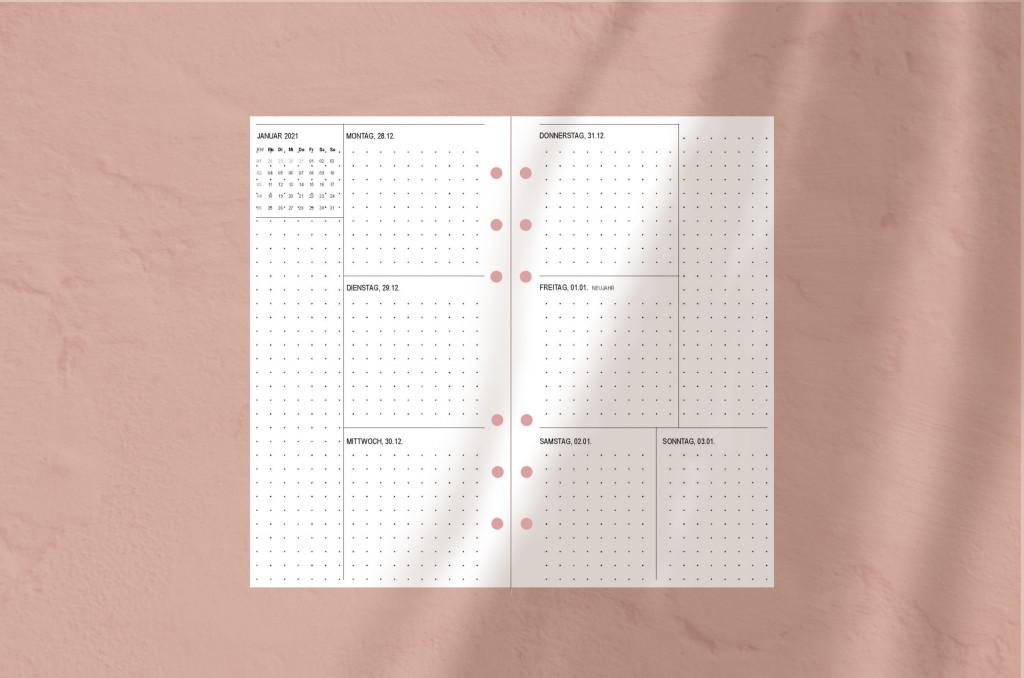 Filofax Kalender 2021