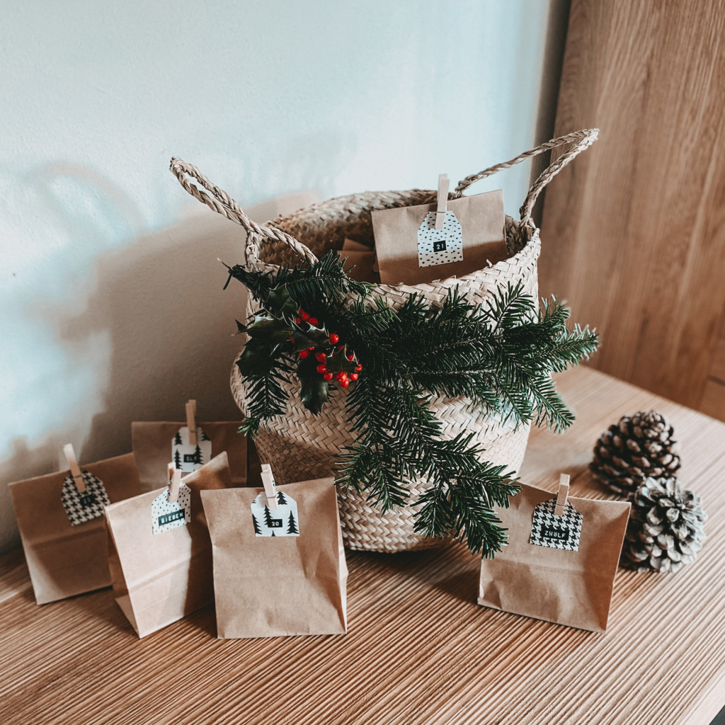 DIY Adventskorb