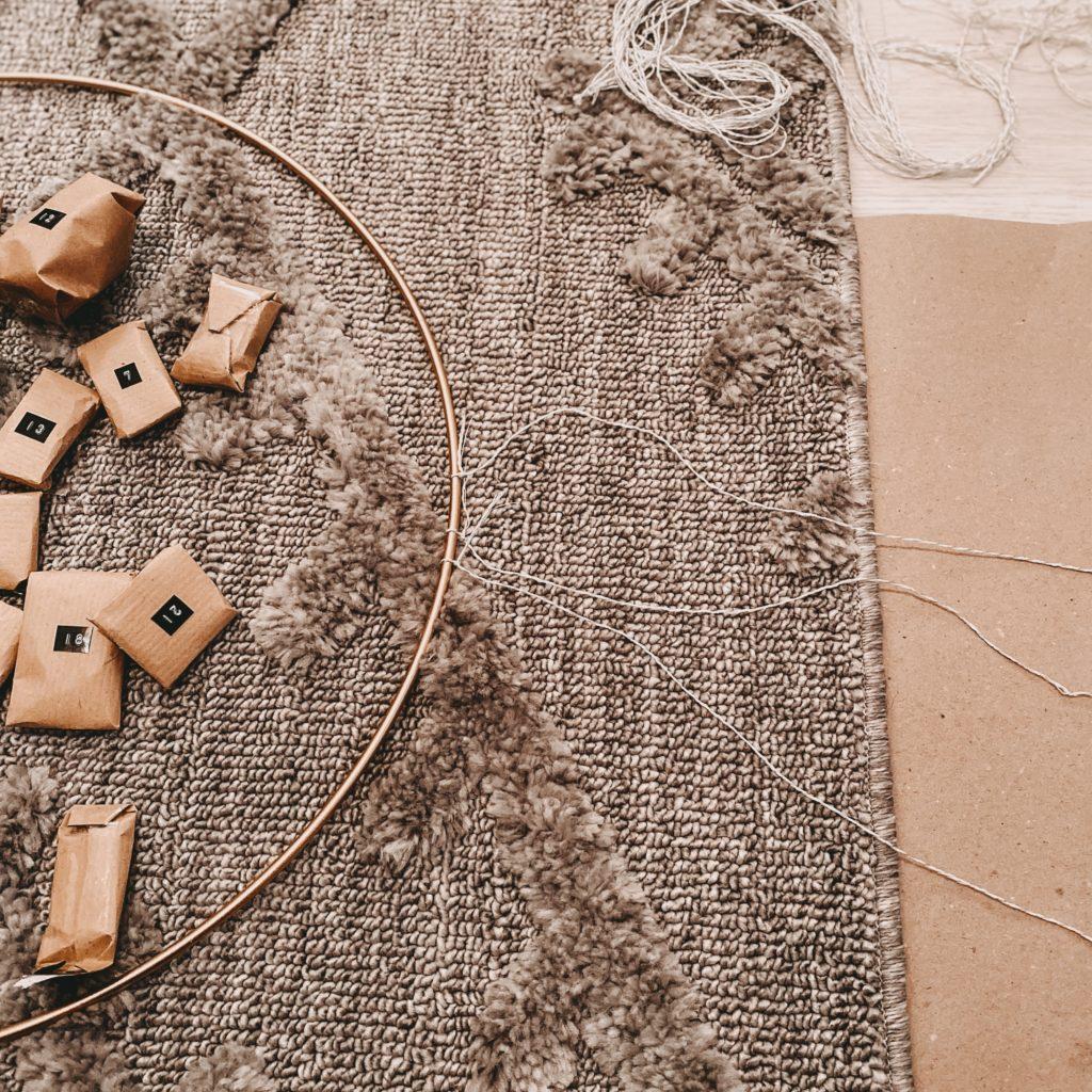 Adventskalender Puzzle Schritt 3
