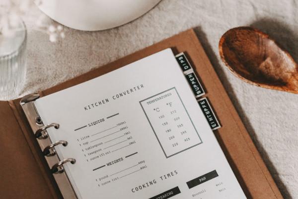 Kitchen Converter Free Printable