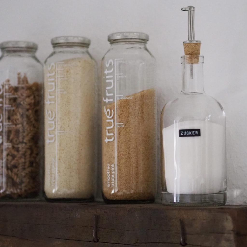 Ölfreunde Upcycling Zuckerstreuer Vorrat