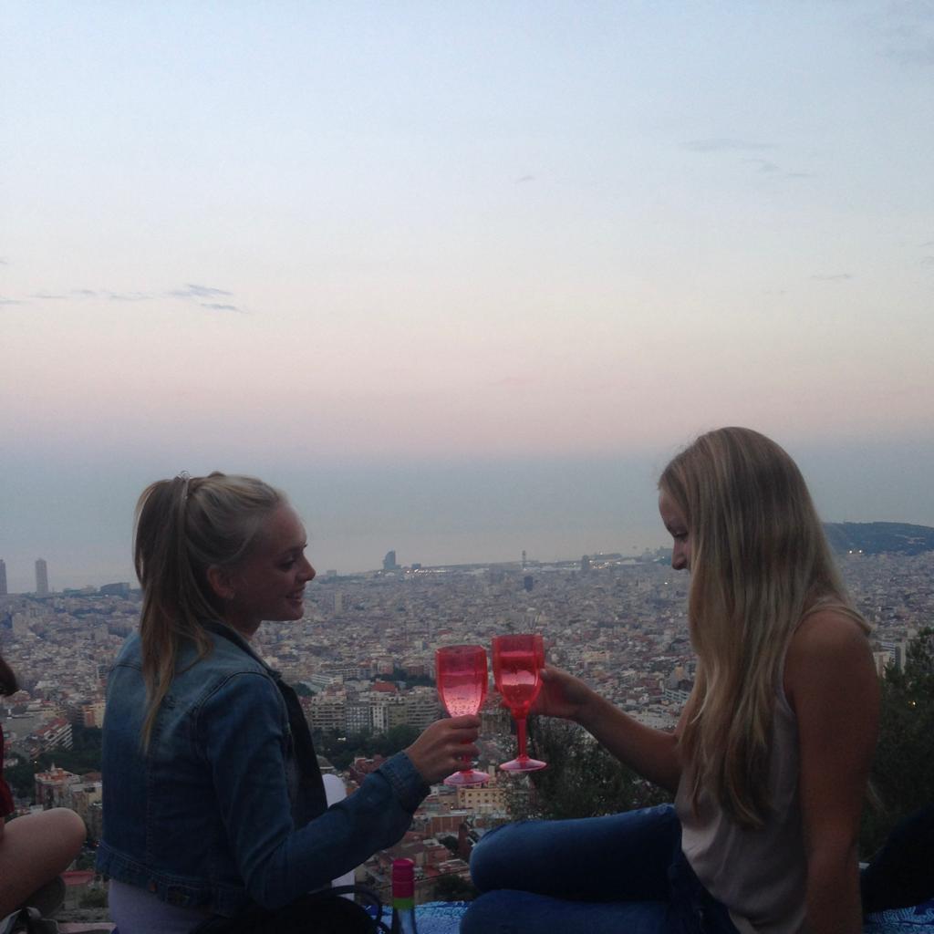 Caro & Lena in Barcelona