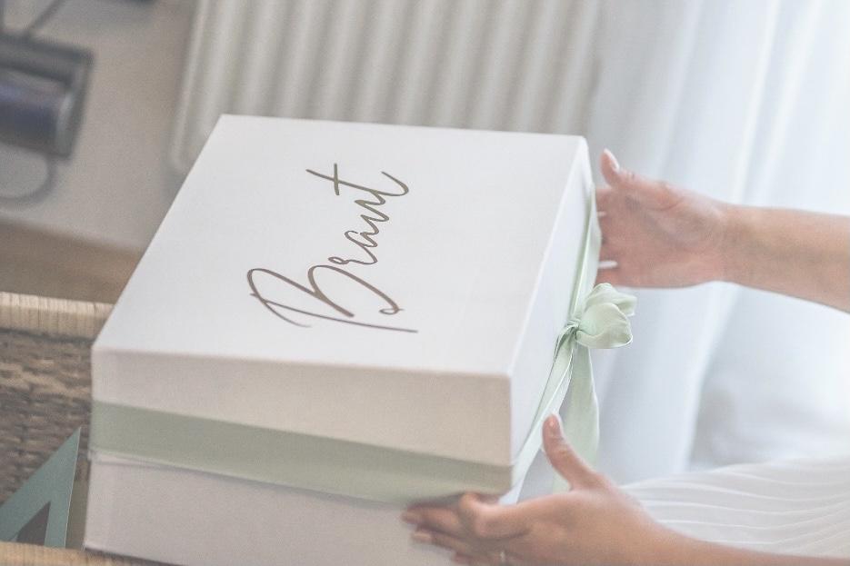 Brautbox Geschenk Hochzeit