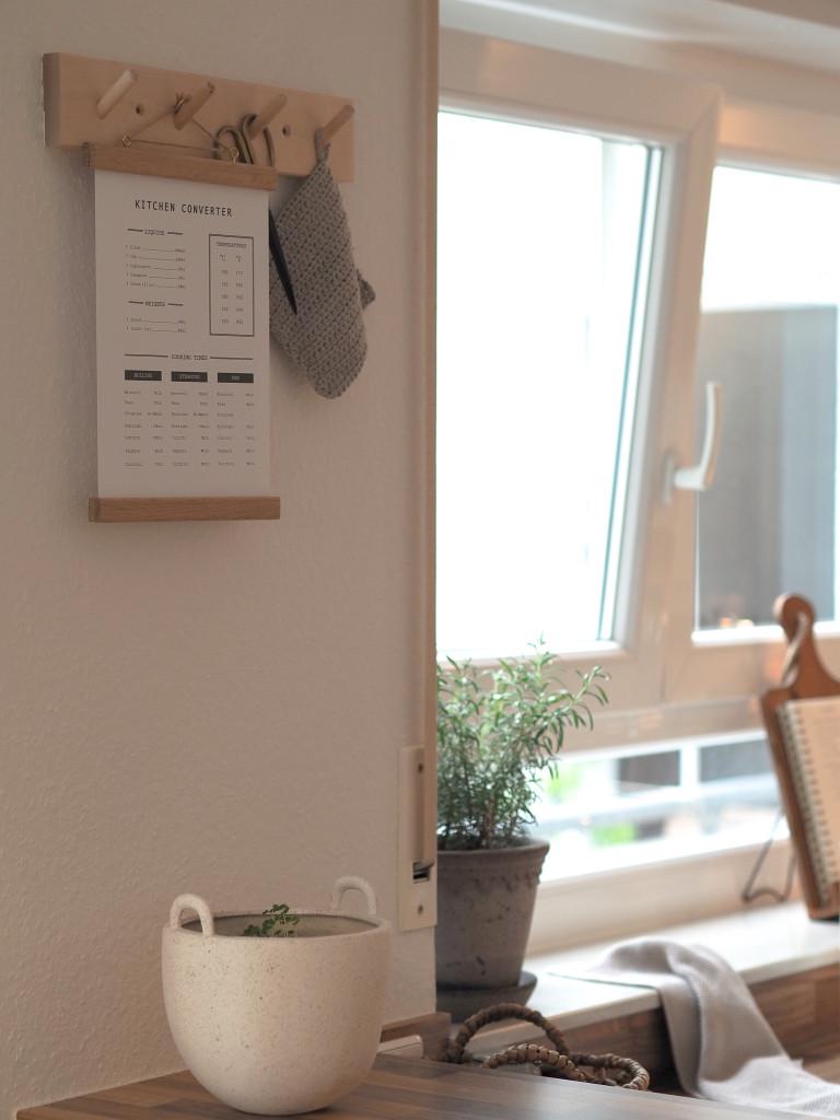 Kitchen Converter Guide Poster kostenlos Mood