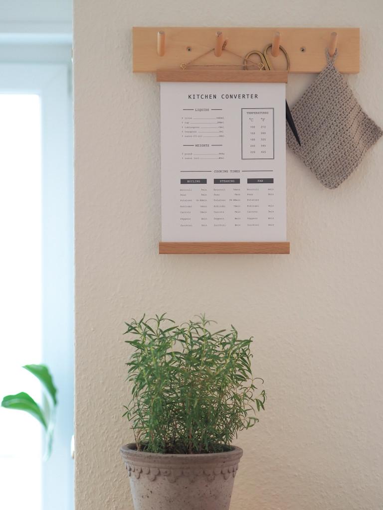 Kitchen Converter Guide Poster kostenlos